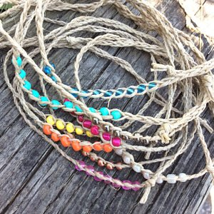 Hemp-HandMade-Hemp-Wish-Friendship-Anklet